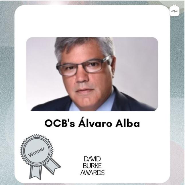 2020 Burke Award Winner – Álvaro Alba