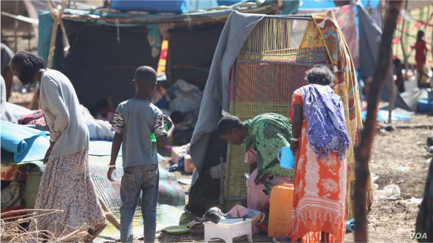 VOA adds languages, goes inside refugee camps to cover Tigray crisis in Africa