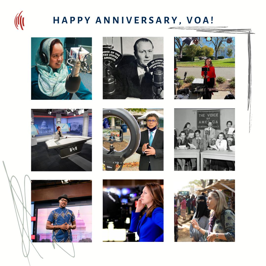 Happy Anniversary, VOA!