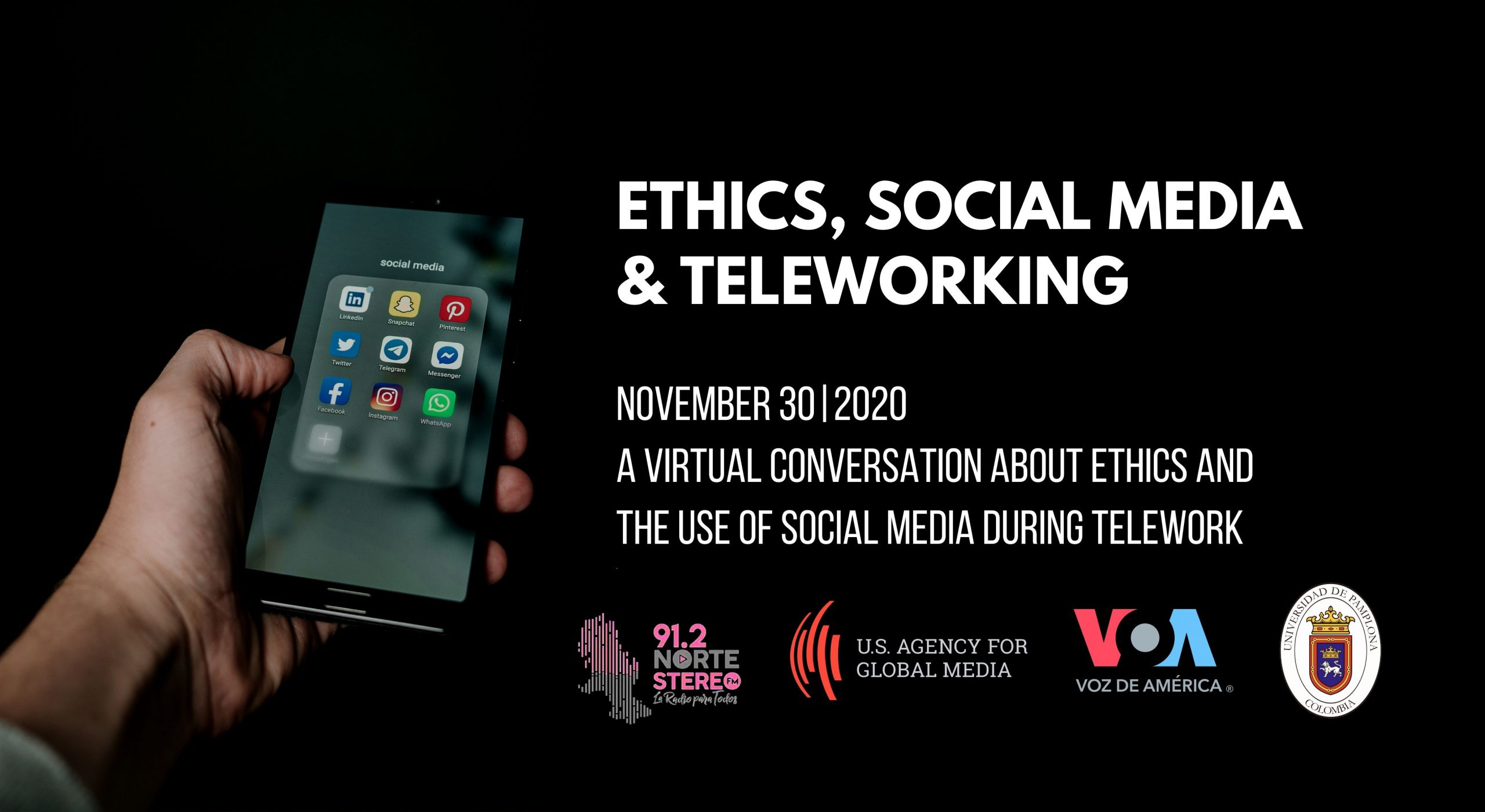 Latin America: Ethics, Social Media and Teleworking