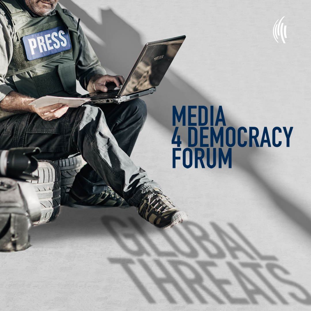 #M4DF – Overcoming Global Threats to Independent Journalism