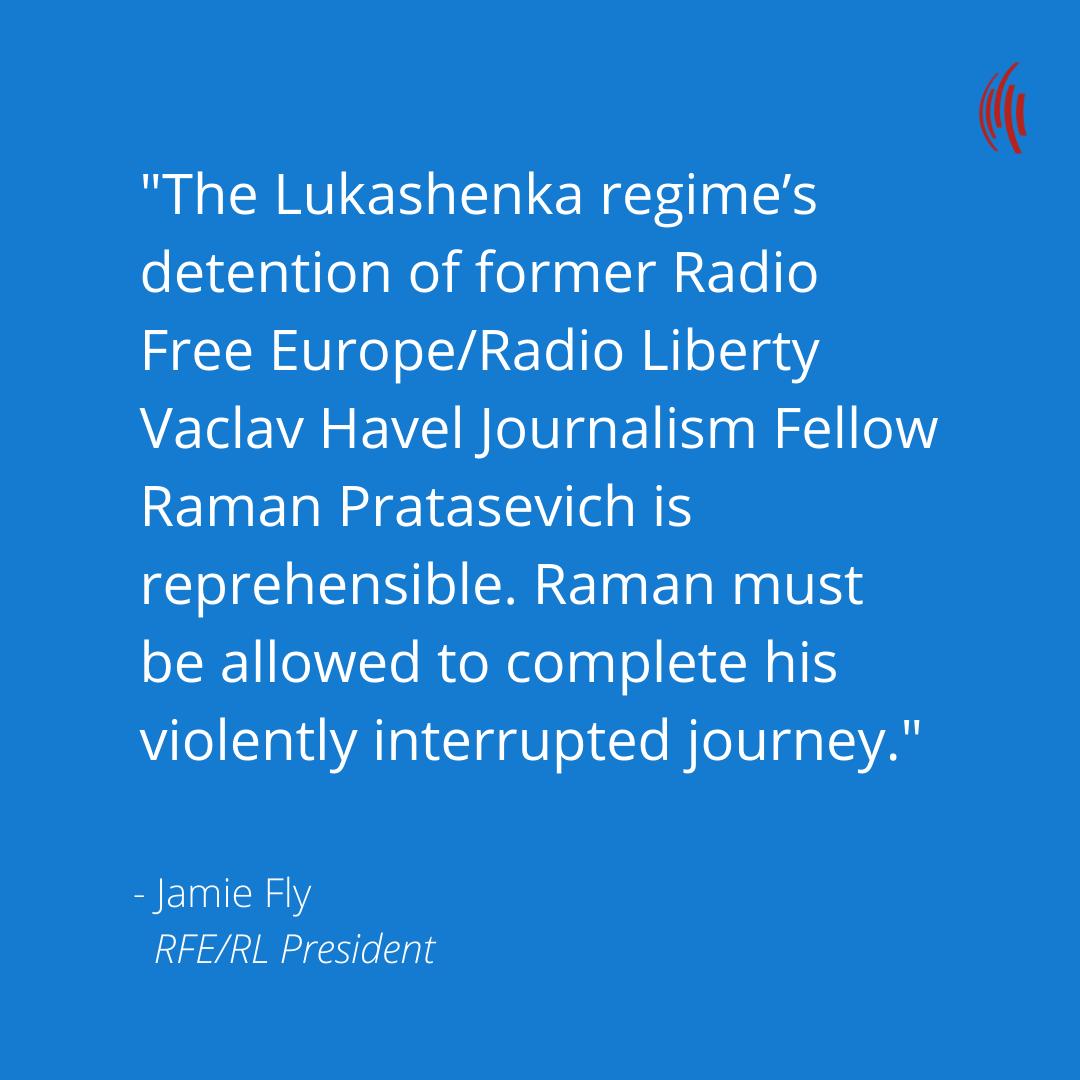 EU, NATO Demand Belarus Explain 'Forcible' Diversion Of Passenger Plane, Detention Of Journalist