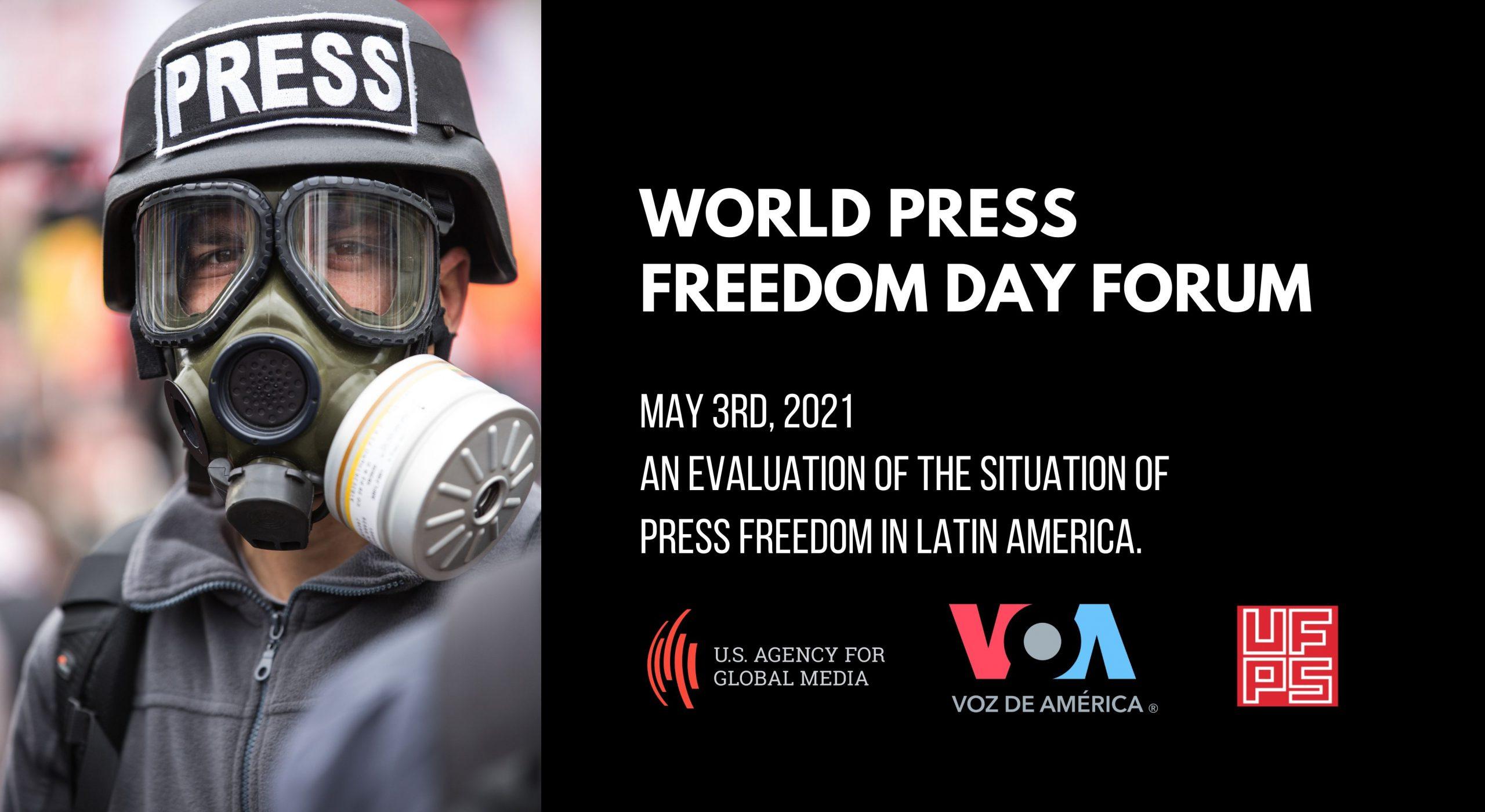 Latin America: World Press Freedom Day Forum