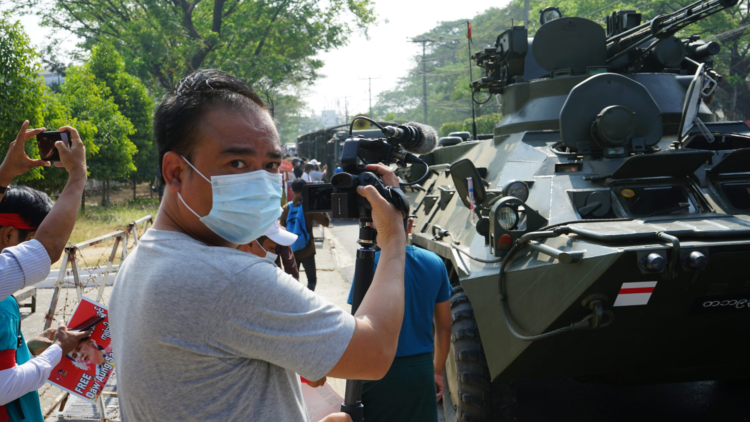 USAGM launches 24/7 satellite TV channel for Burma to counter military censorship