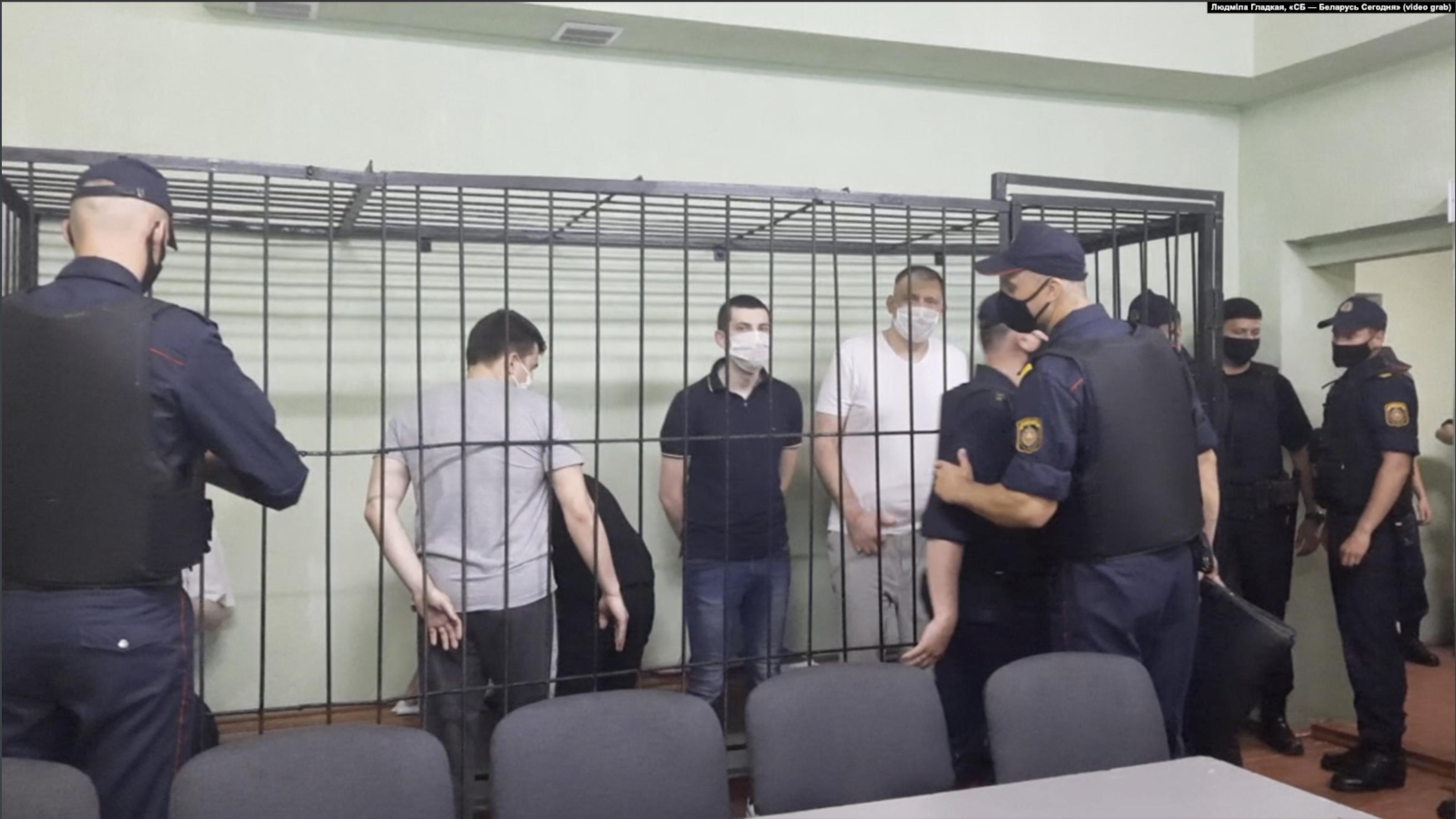 'Mockery of Justice': RFE/RL demands Losik's release as show trial gets under way in Belarus