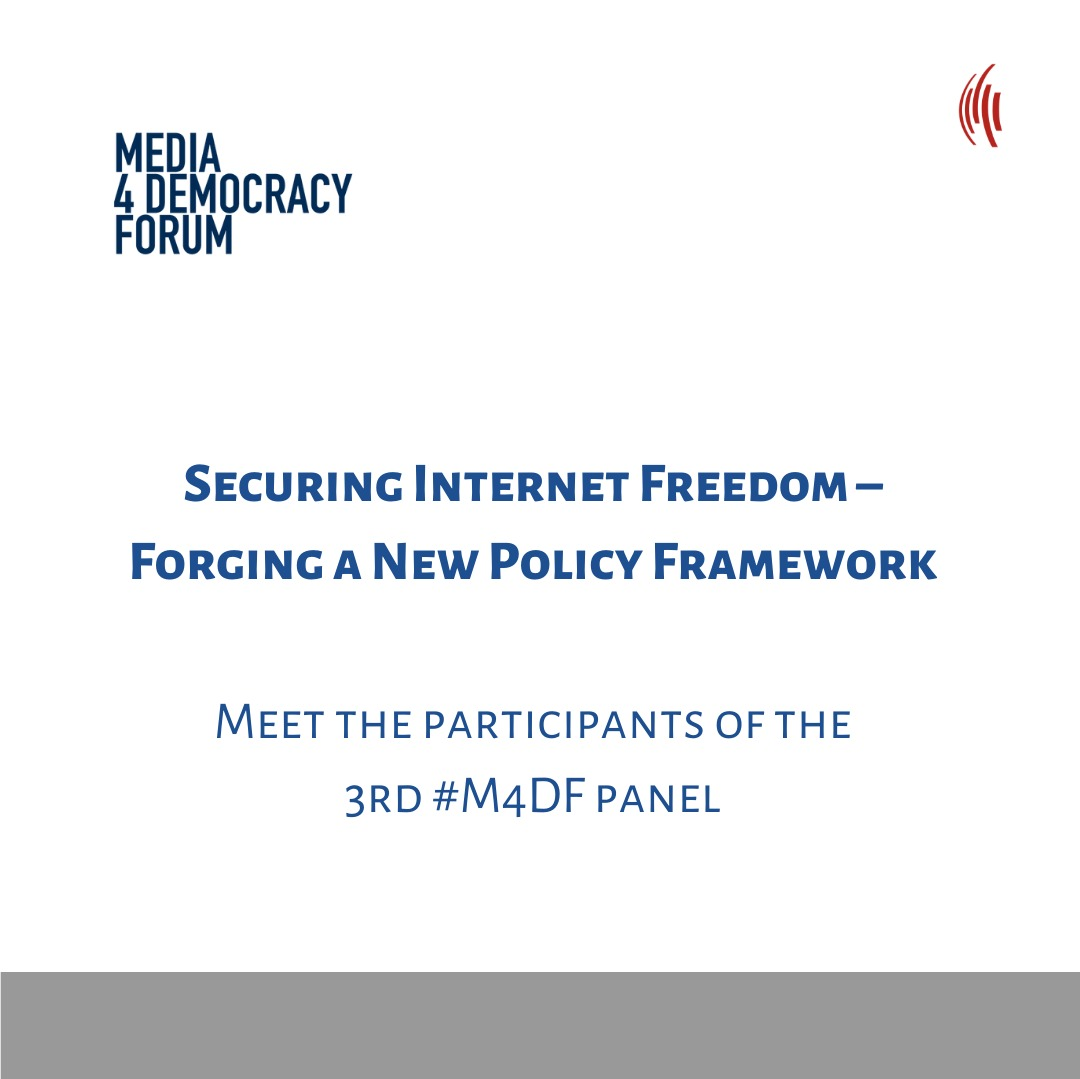 #M4DF – Securing Internet Freedom – Forging a New Policy Framework