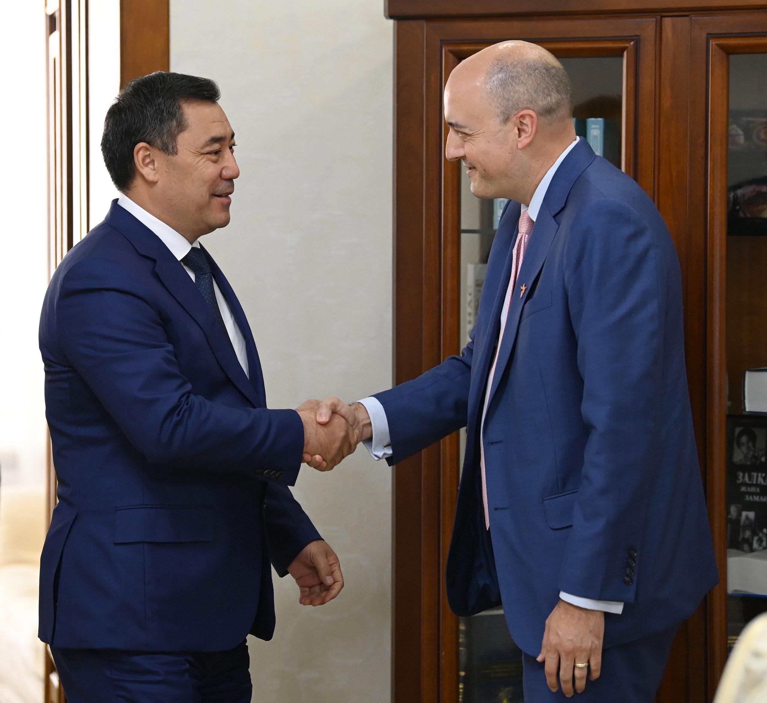 RFE/RL's Jamie Fly Visits Kyrgyzstan