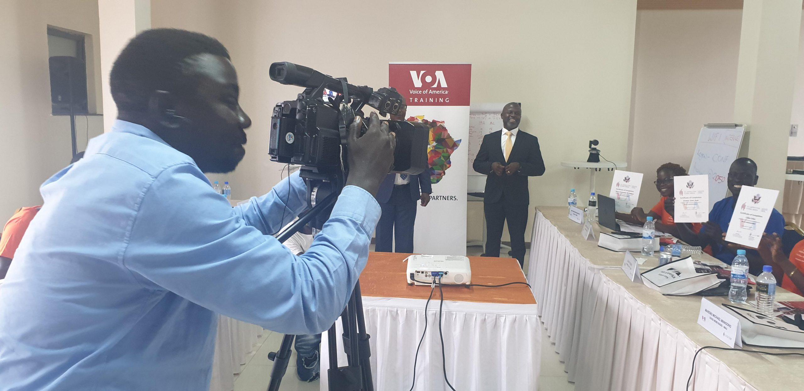 Radio management training for South Sudan affiliates